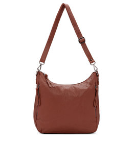 Colab Colab Megan Washed Vintage Shoulder Hobo (#6403) - Cocoa