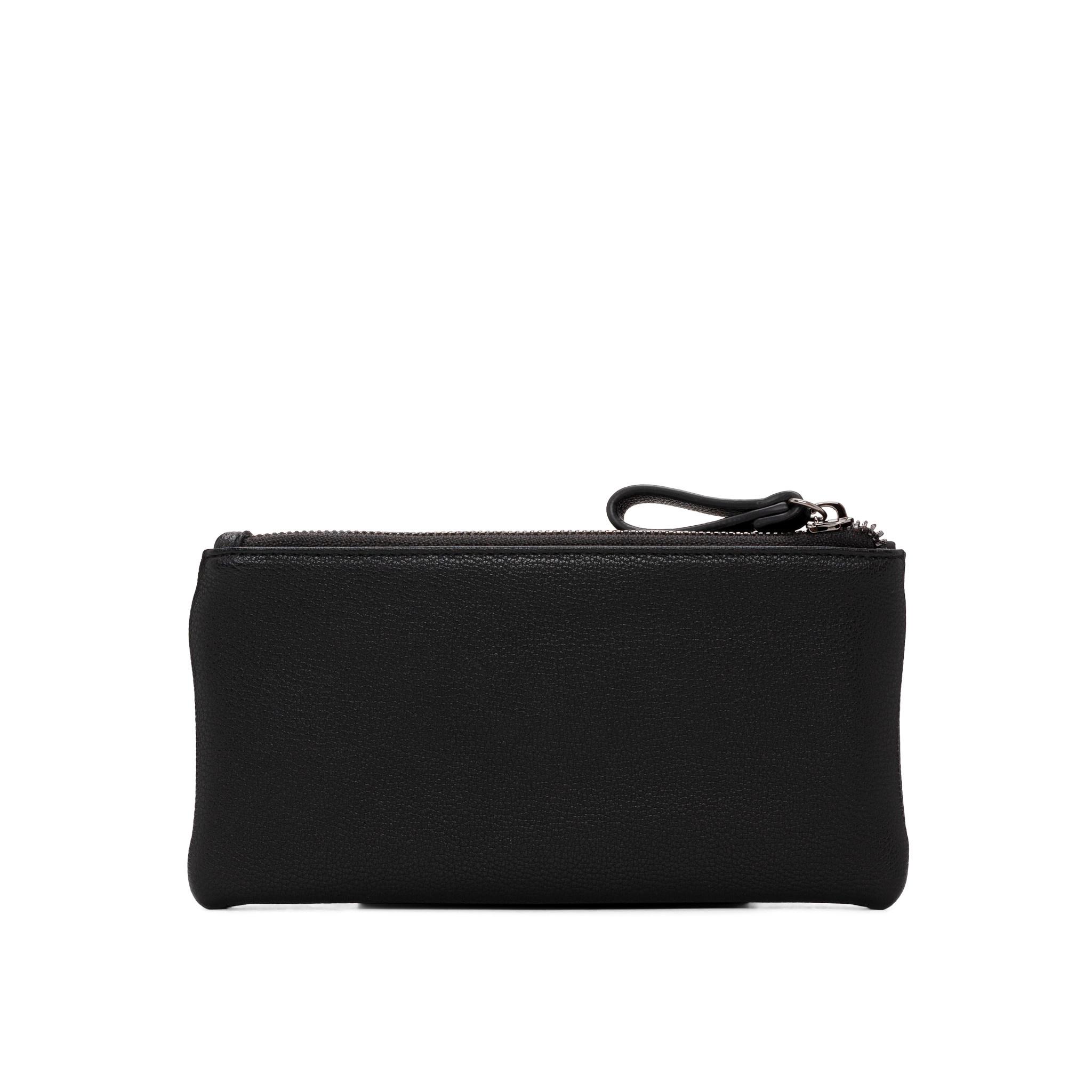 Colab Colab Suede PU Wallet w/flap (#6508) - Black