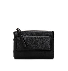 Colab Colab Smooth Pebble Wallet (#6532) - Black