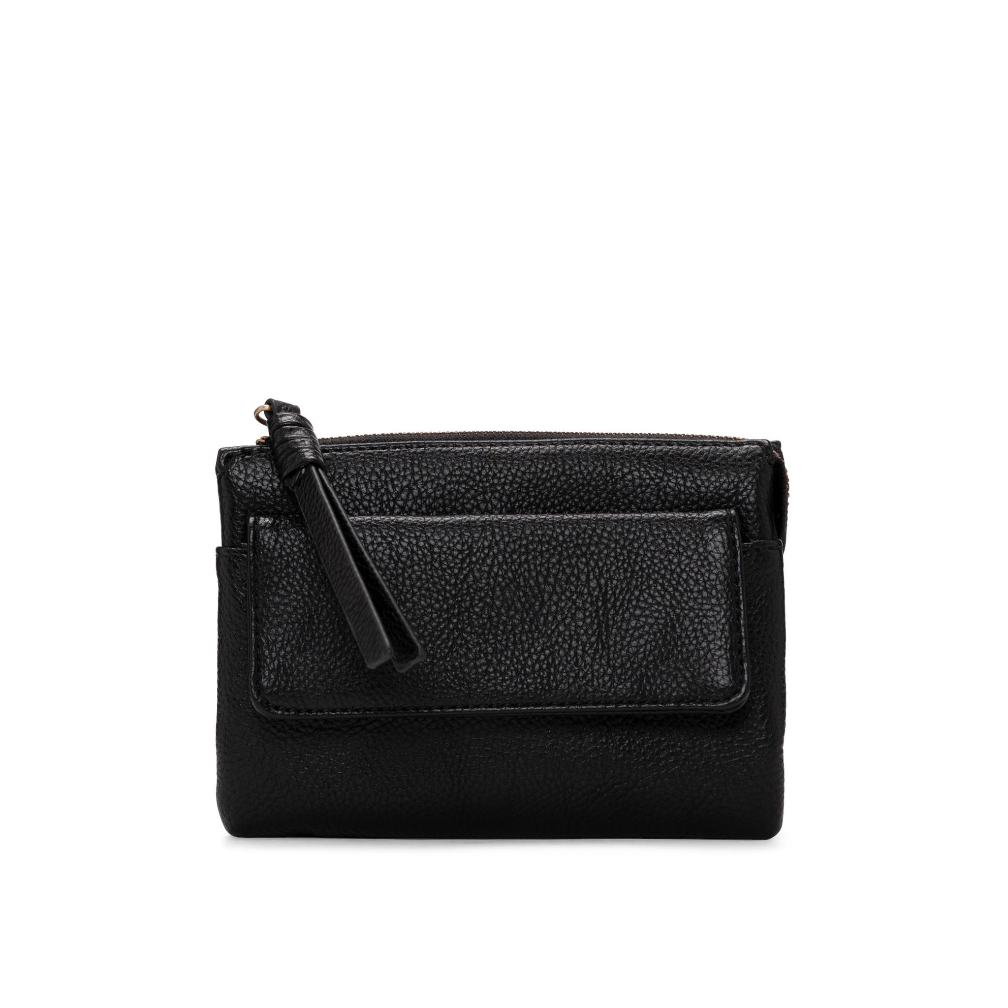 Colab Colab Smooth Pebble Wallet (#6532) - Black