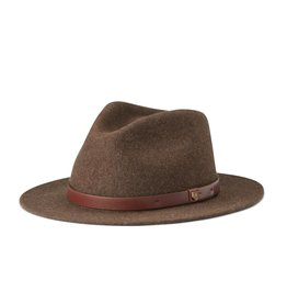 Brixton Brixton Messer Fedora - Heather Brown