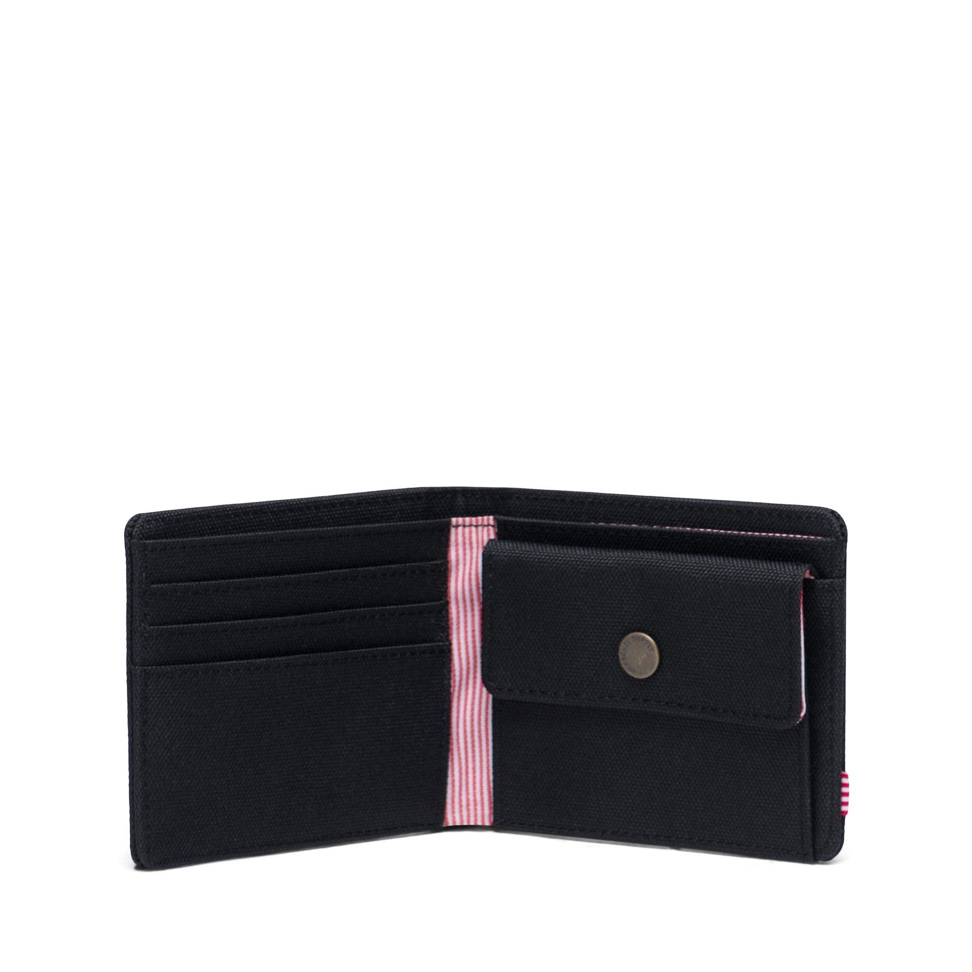 Herschel Supply Co. Herschel Roy Coin Wallet - Black/RFID