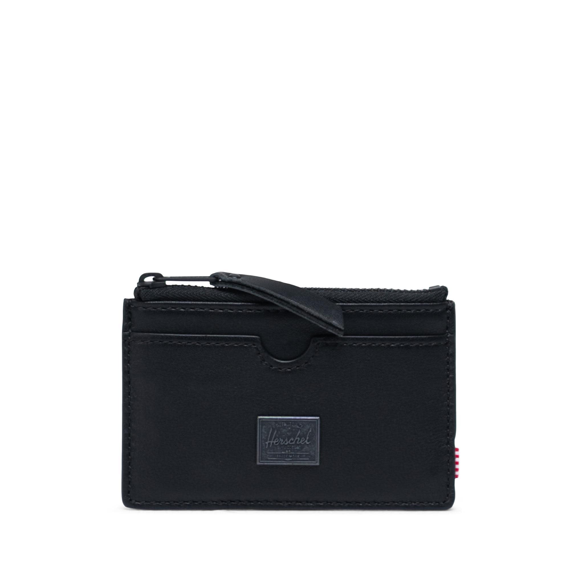 Herschel Supply Co. Herschel Oscar Leather Wallet - Black