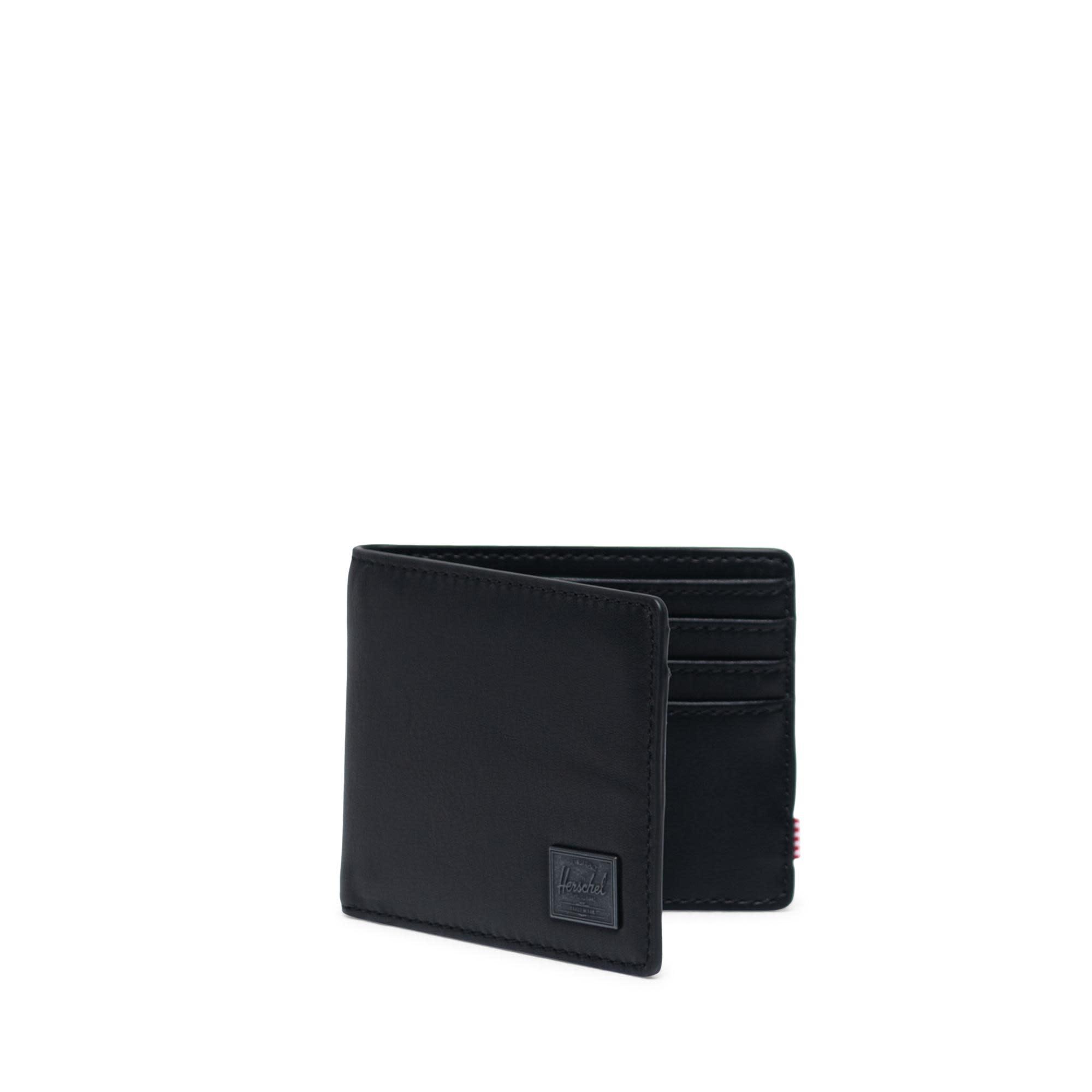 Herschel Supply Co. Herschel Hank Leather Wallet - Black/RFID