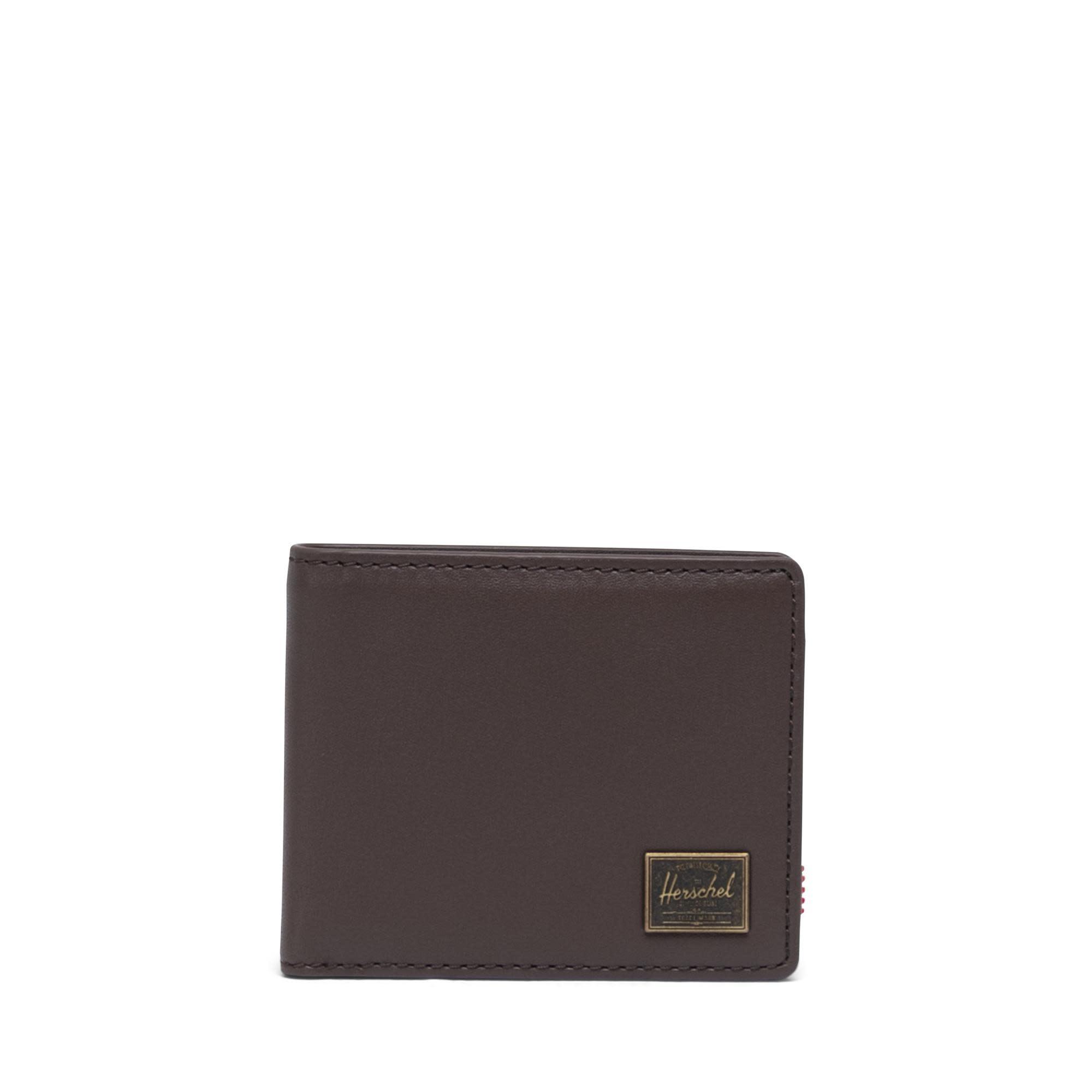 Herschel Supply Co. Herschel Hank Leather Wallet - Brown/RFID
