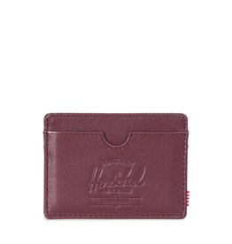 Herschel Supply Co. Herschel Charlie Leather - Windsor Wine/Textured Leather