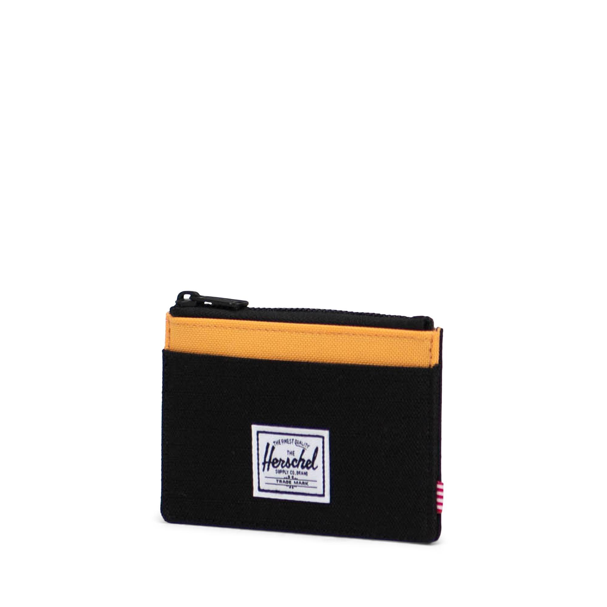 Herschel Supply Co. Herschel Oscar Wallet - Black Crosshatch/Black Ripstop/Blazing Orange/RFID