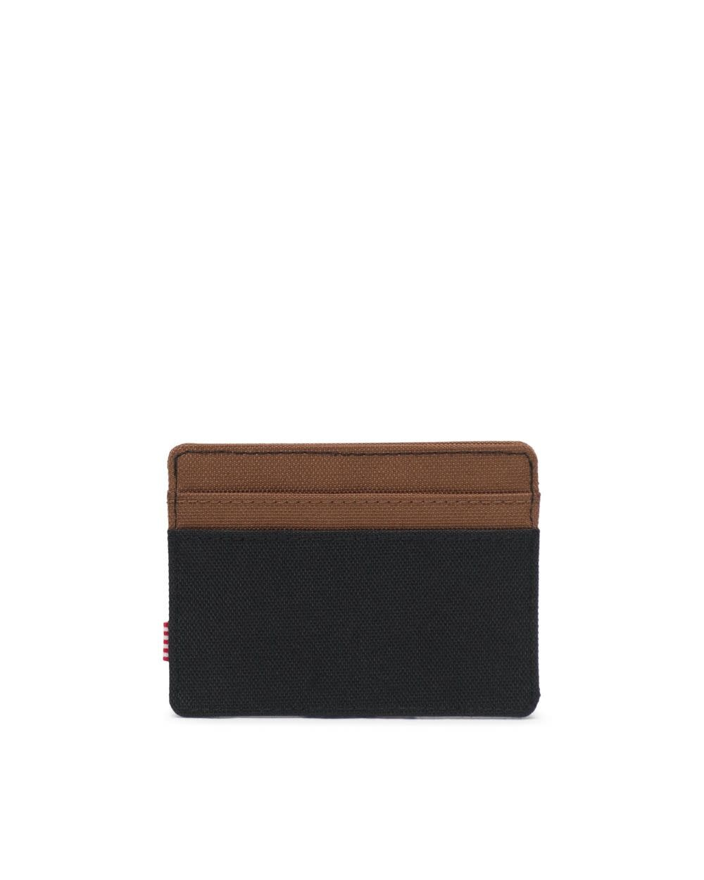Herschel Supply Co. Herschel Charlie Wallet - Black/Saddle Brown