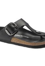 Birkenstock Birkenstock Gizeh Big Buckle Leather (Femmes - Régulier) - Black