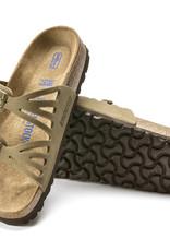 Birkenstock Birkenstock Granada Soft Footbed Nubuck (Femmes - Régulier) - Faded Khaki