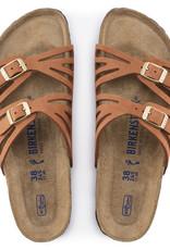 Birkenstock Birkenstock Granada Soft Footbed Nubuck (Women - Regular) - Pecan