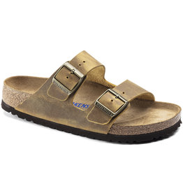 Birkenstock Birkenstock Arizona Soft Footbed -  Oiled Leather (Men - Regular) - Ochre
