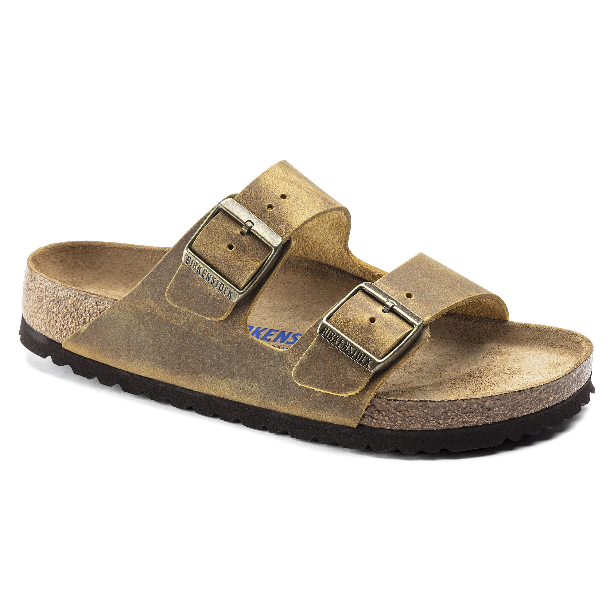 Birkenstock Birkenstock Arizona Soft Footbed -  Oiled Leather (Hommes - Régulier) - Ochre
