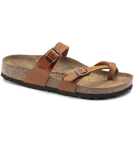 Birkenstock Birkenstock Mayari Birko-Flor (Women - Regular) - Ginger Brown