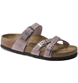 Birkenstock Birkenstock Franca Oiled Leather (Women - Narrow) - Lavander Blush
