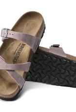 Birkenstock Birkenstock Franca Oiled Leather (Femmes - Étroit) - Lavander Blush