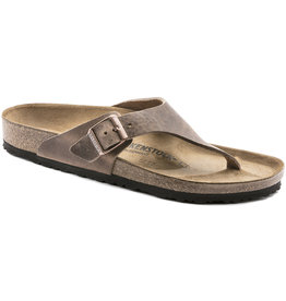 Birkenstock Birkenstock Como Oiled Leather (Men - Regular) - Tobacco