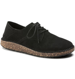Birkenstock Birkenstock Gary Suede  (Men - Regular) - Black