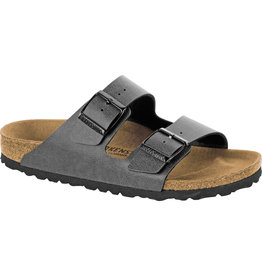 Birkenstock Birkenstock Arizona Birko-Flor (Men - Regular) - Pull Up Anthracite