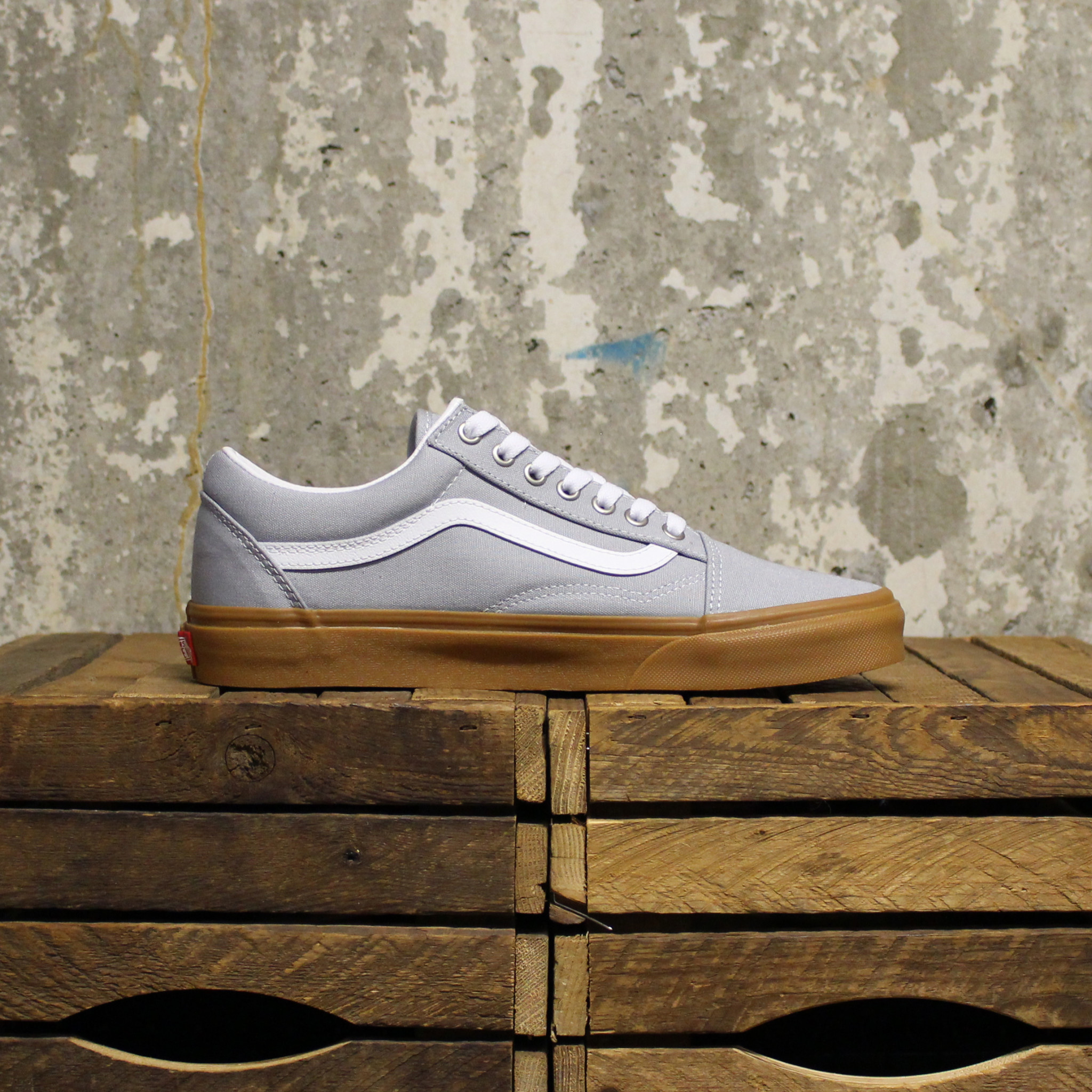 Vans Vans Old Skool (Gum) - High Rise/True White