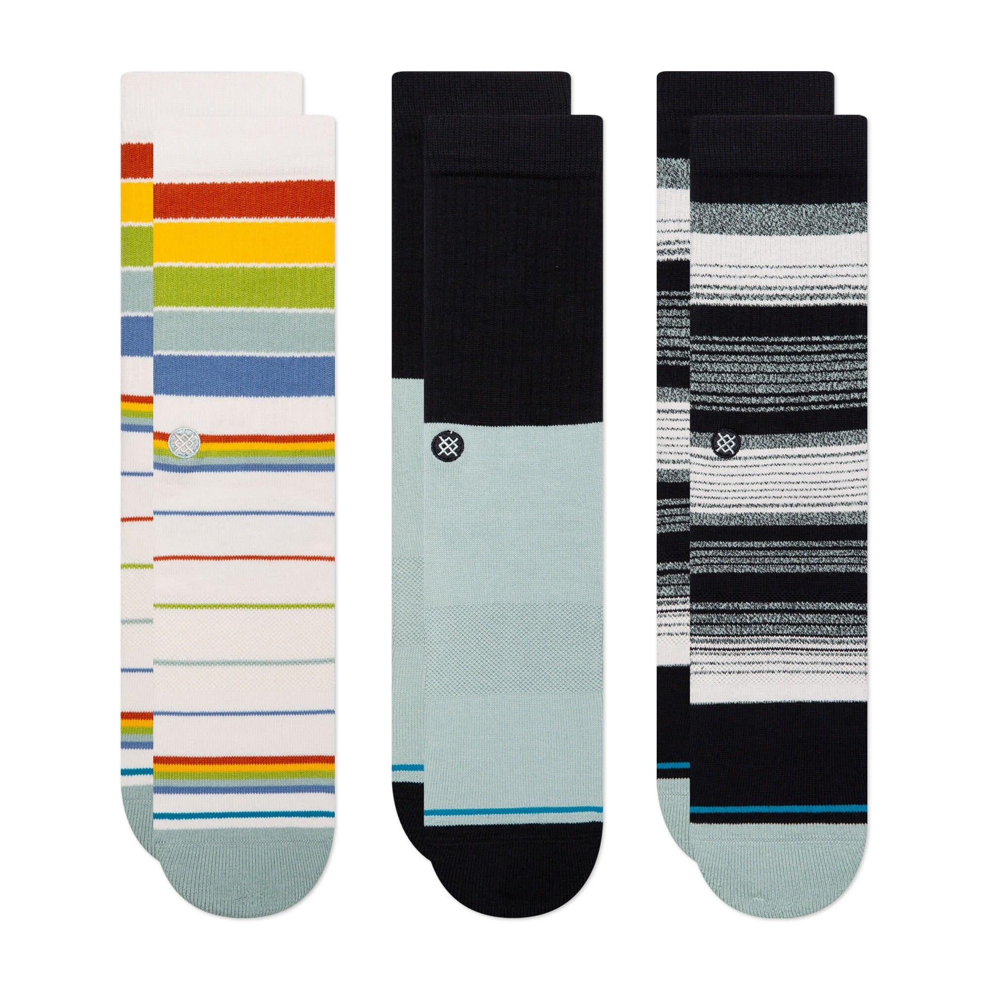 Stance Stance Badwater Crew (3 Pack) - Multi