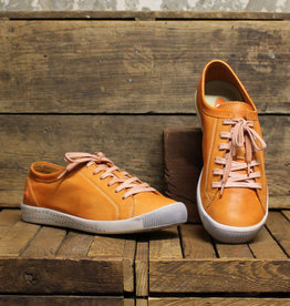 Softinos Softinos ISLA Washed Leather - Orange (White sole)