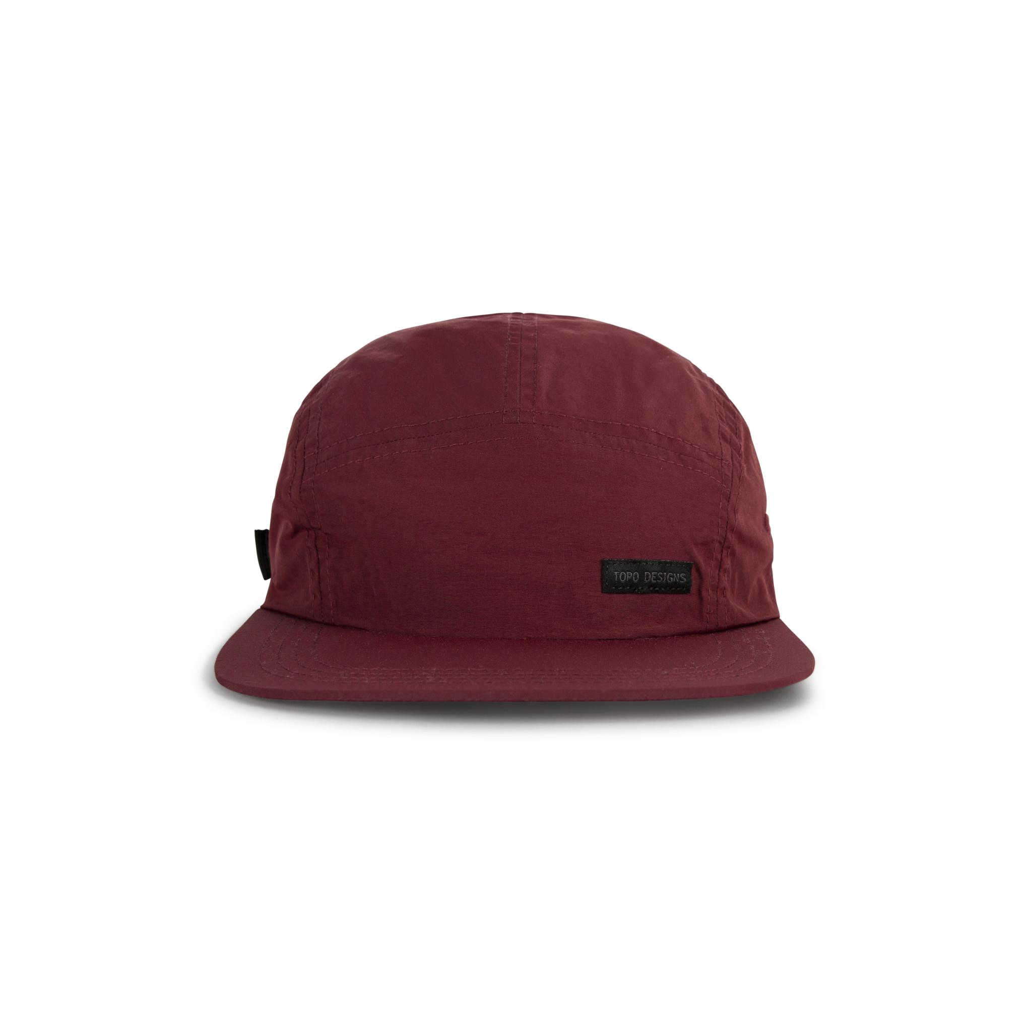 Topo Designs Topo Designs Nylon Camp Hat - Maroon
