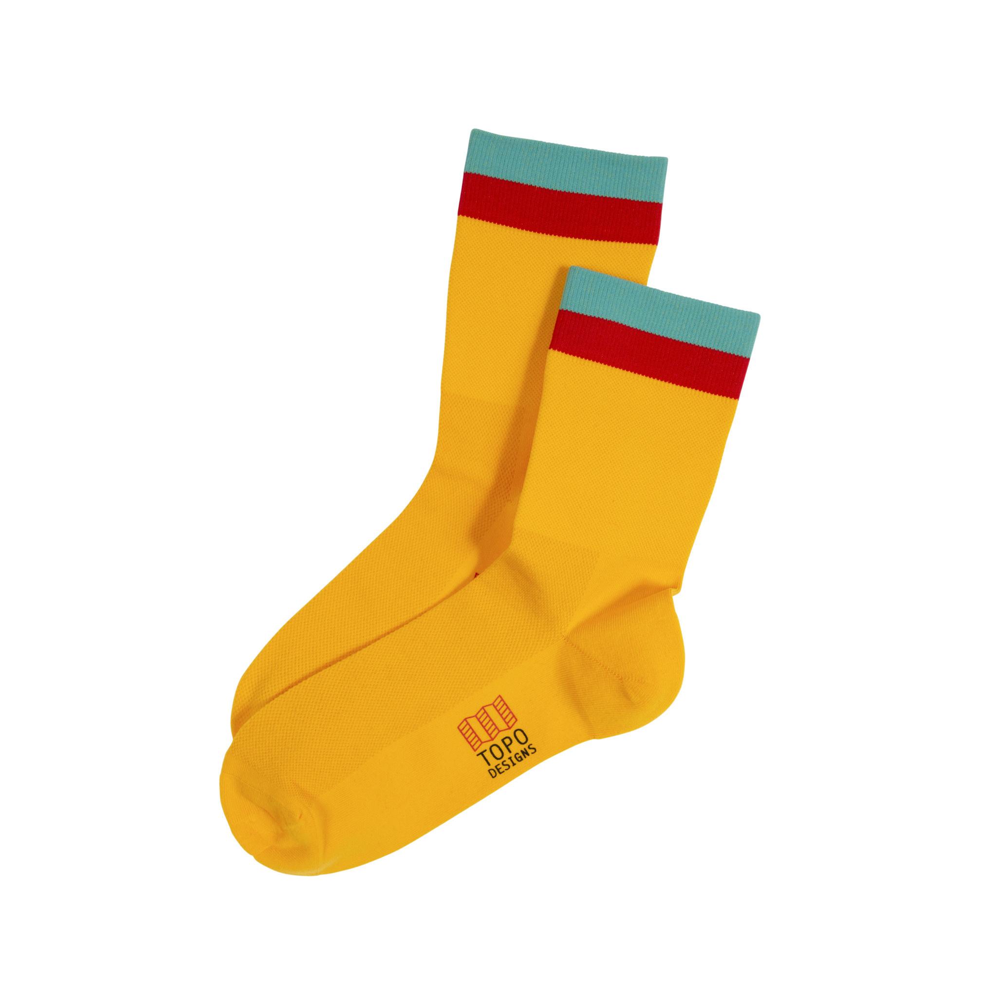 Topo Designs Topo Designs Sport Socks - Yellow