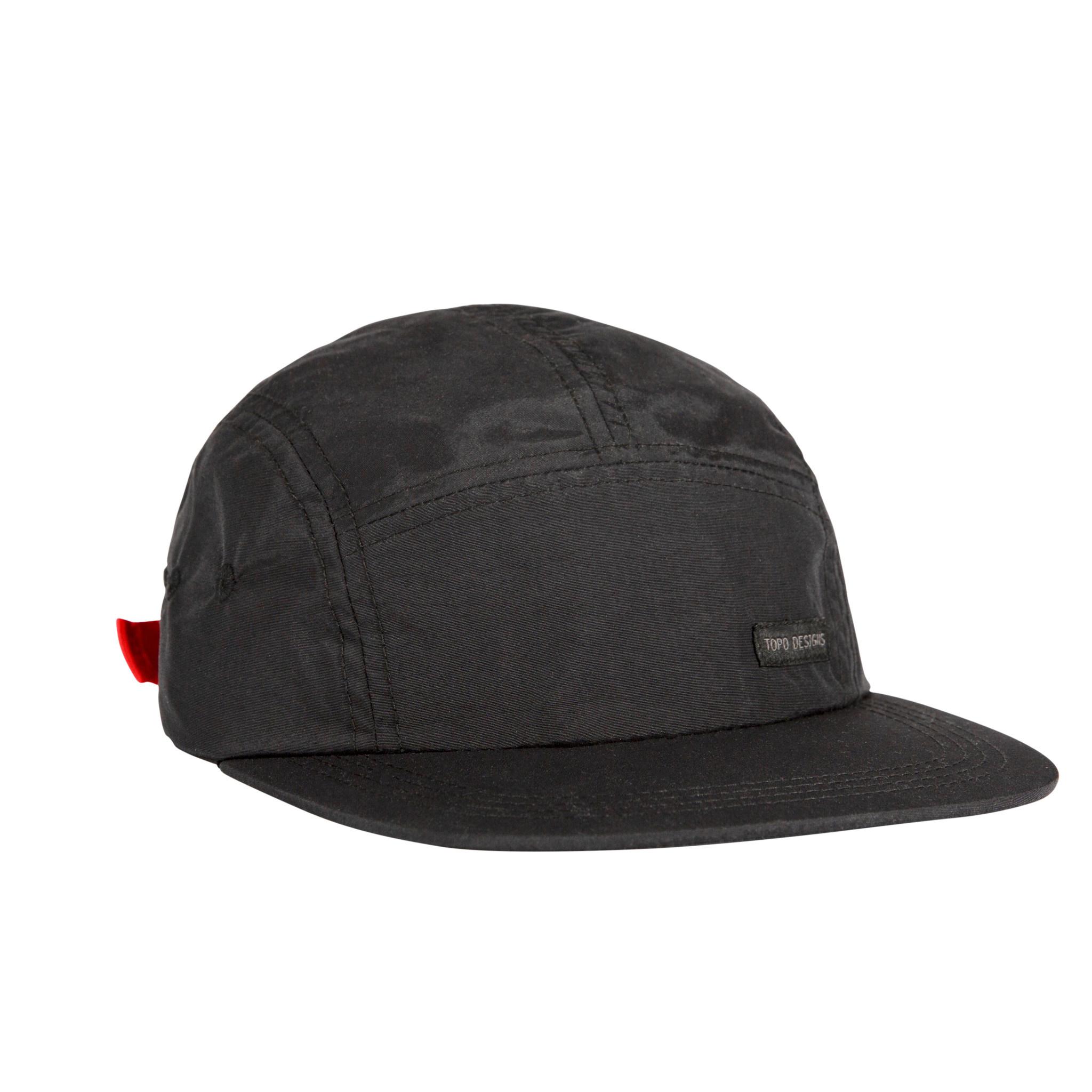 Topo Designs Topo Designs Nylon Camp Hat - Black