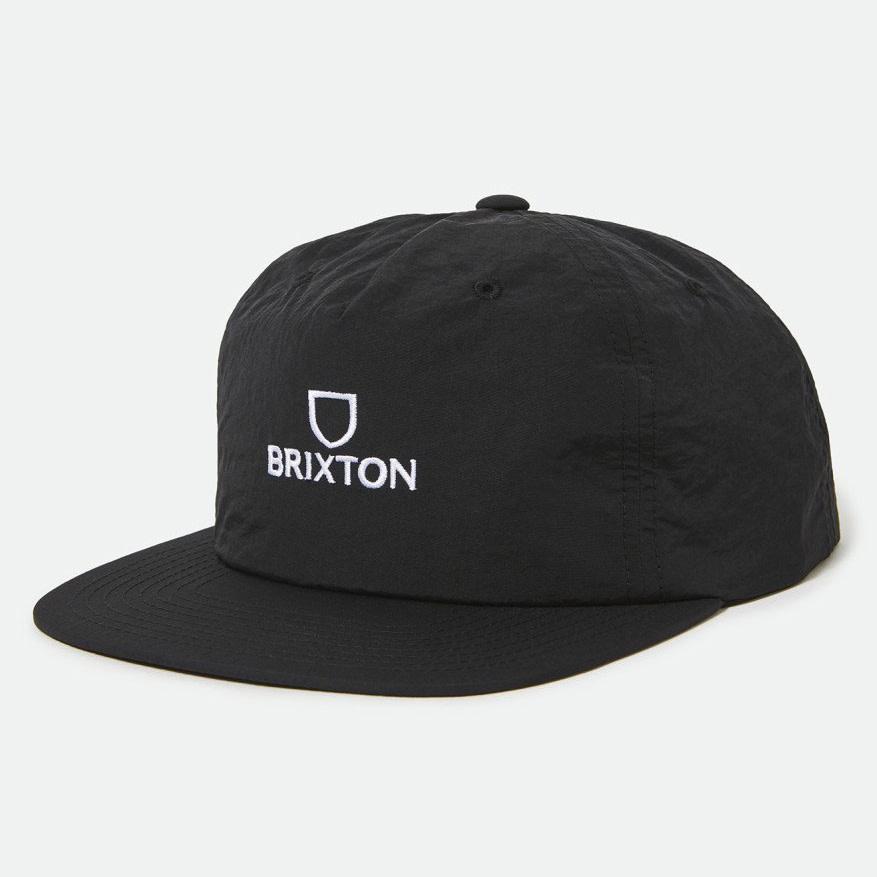 Brixton Brixton Alpha MP Snapback - Black/White