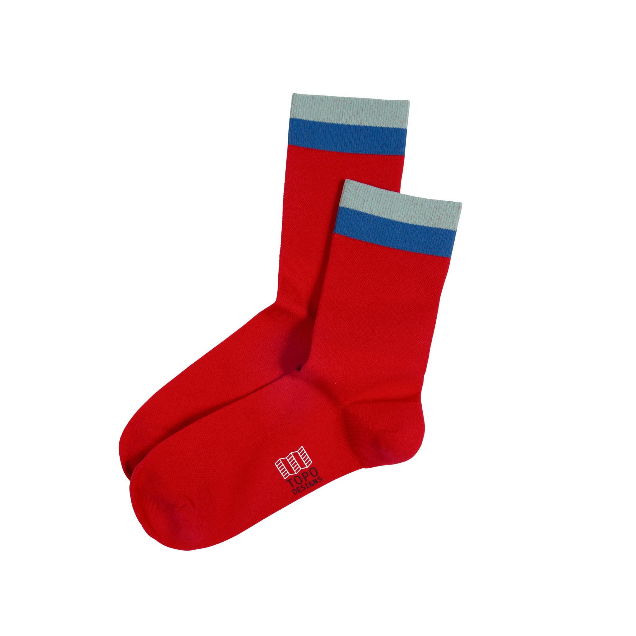 Topo Designs Topo Designs Sport Socks - Red