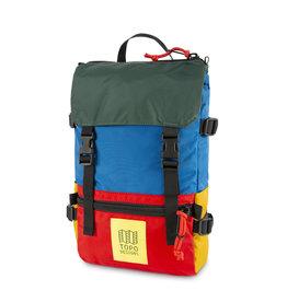 Topo Designs Topo Designs Rover Pack Mini - Blue/Red/Forest