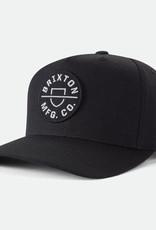 Brixton Brixton Crest C MP Cap - Black