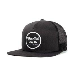 Brixton Brixton Wheeler Mesh Cap - Black/Black