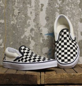 Vans Vans Classic Slip-On - Black/White Checkerboard/White