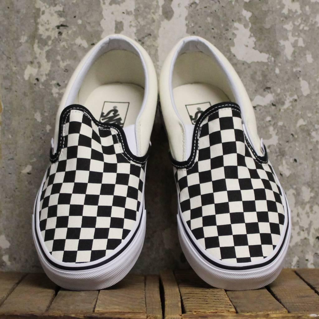 7345fe84be2 Vans Checkerboard Slip-On - Black Off White Check - Bottes et Baskets