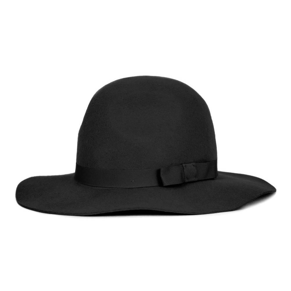 399046fd616 Brixton Dalila Hat - Black Black - Bottes et Baskets