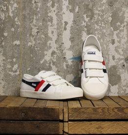 Gola Gola Coaster Velcro - Off White/Navy/Red