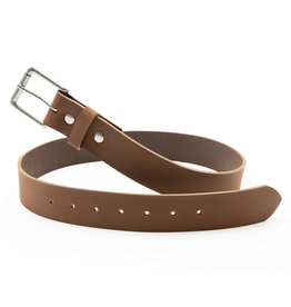 Fab Fab - Leather belt -Brown