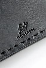 Fab Fab - Porte-cartes en cuir noir