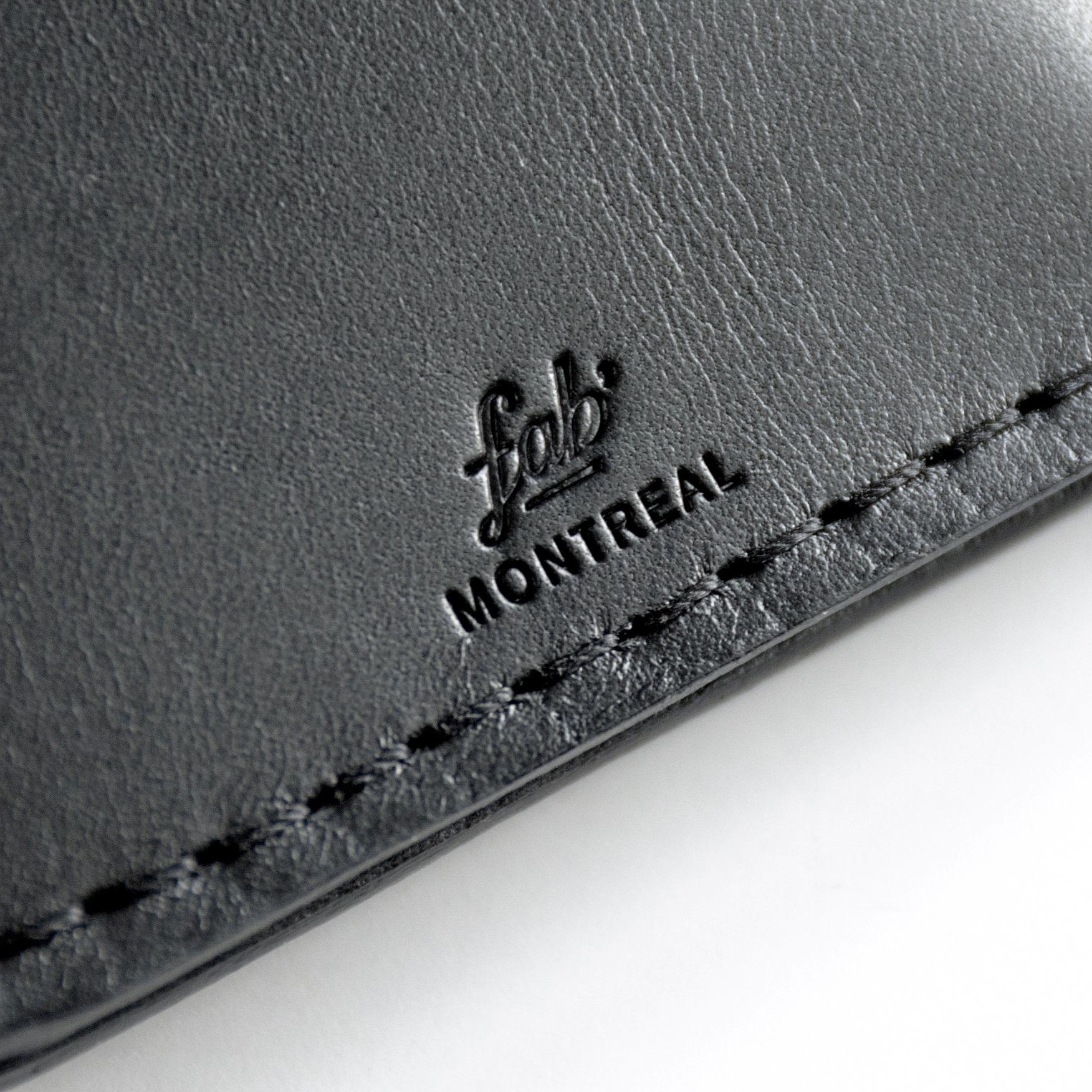 Fab Fab - Leather card holder - Black