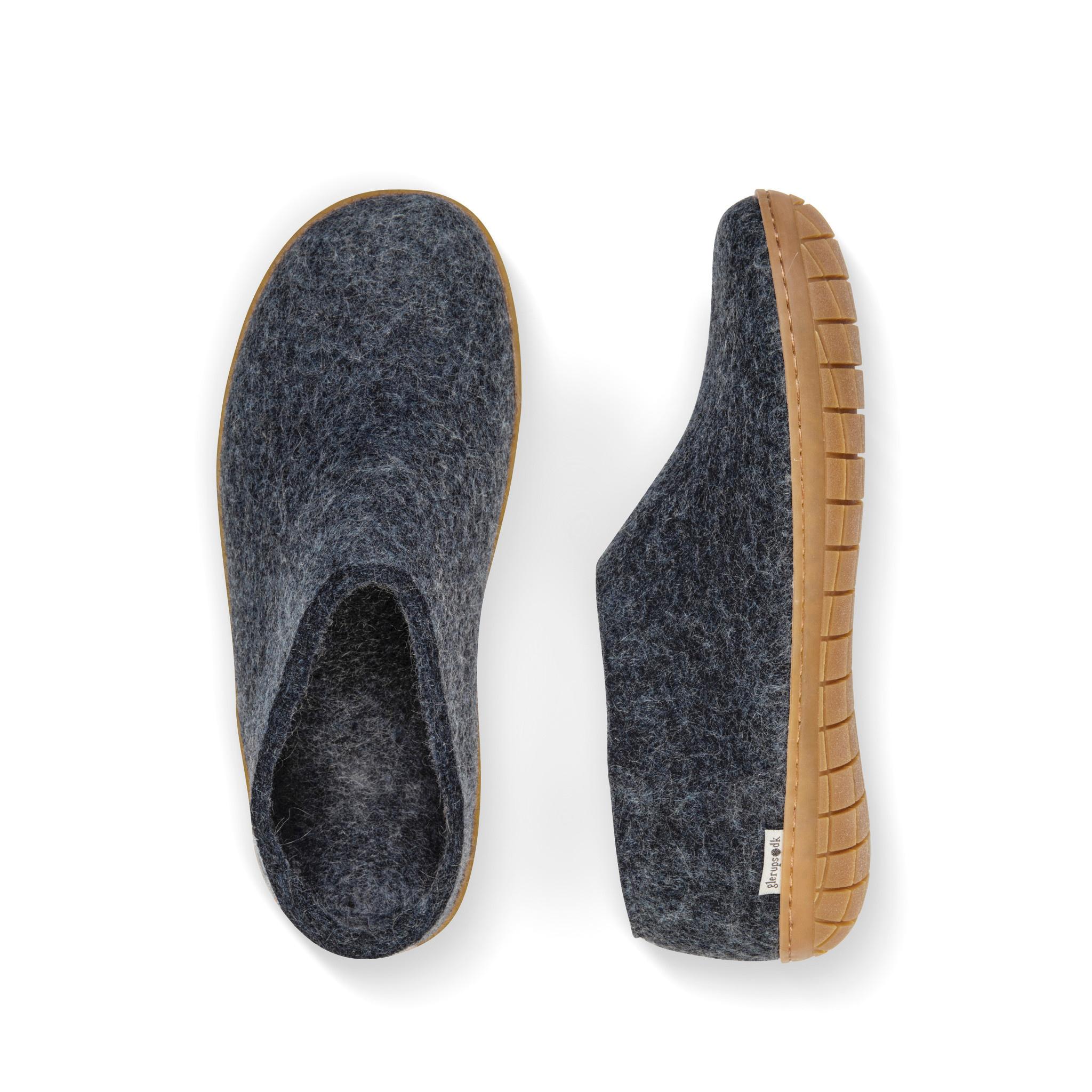 Glerups Glerups Chaussure (semelle de caoutchouc) - Bleu Denim