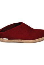 Glerups Glerups Pantoufle/Open Heel - Red