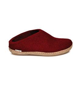 Glerups Glerups Pantoufle/Open Heel - Rouge
