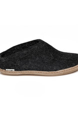 Glerups Glerups Pantoufle/Open Heel - Charcoal (Anthracite)