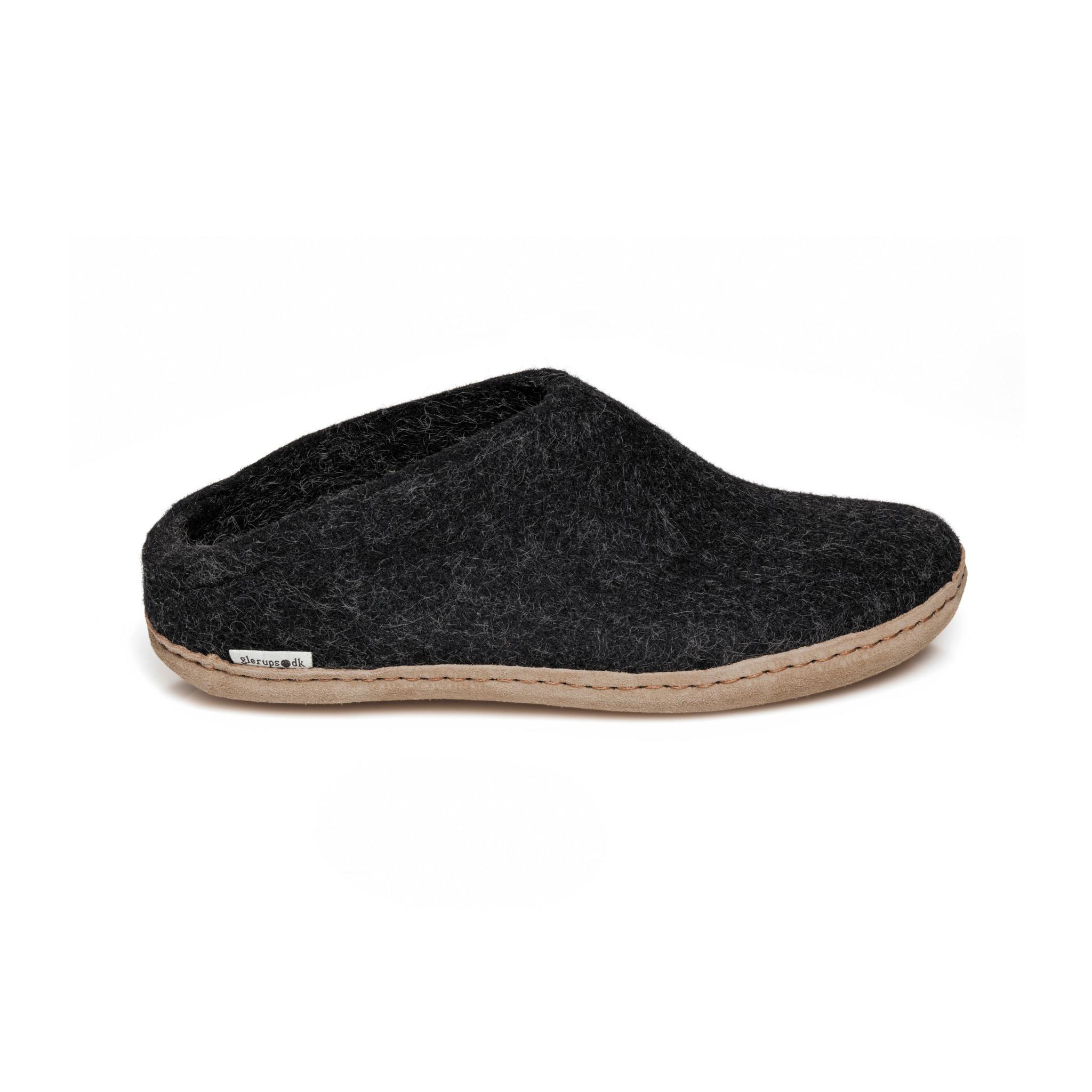 Glerups Glerups Slipper/Open Heel - Anthracite
