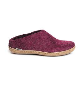 Glerups Glerups Pantoufle/Open Heel - Cranberry