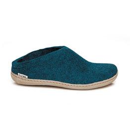 Glerups Glerups Pantoufle/Open Heel - Bleu Pétrole