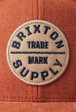 Brixton Brixton Oath III Snapback - Caramel