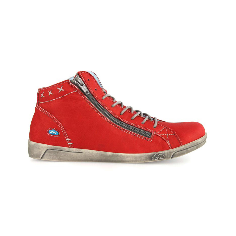 Cloud Cloud Aika Boot - Red/Brushed Sole